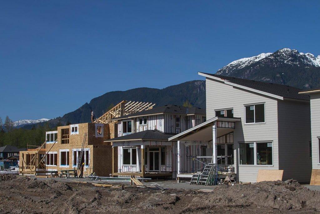 home builders squamish